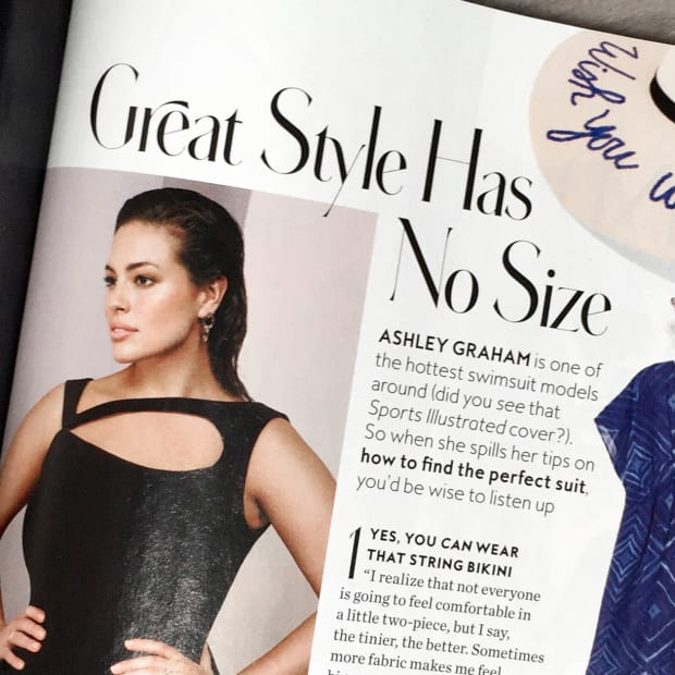 Her First Graham Cover 'vogue' Ashley Fashionista Scores 0w8nOkP