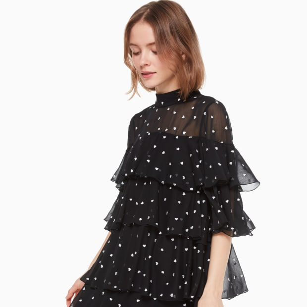 kate spade heartbeed embroidered dress