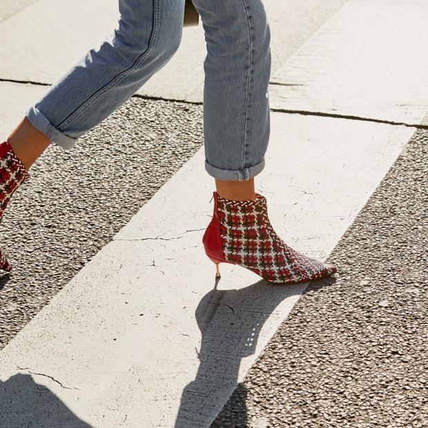 Plaid-Shoes-Market