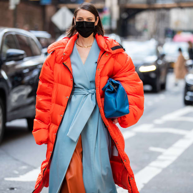 Puffer Jacket New York Fashion Week February 2020 Street Style