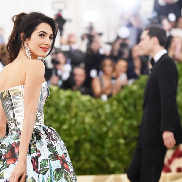 Amal Clooney 2018 Met Gala Close-Up