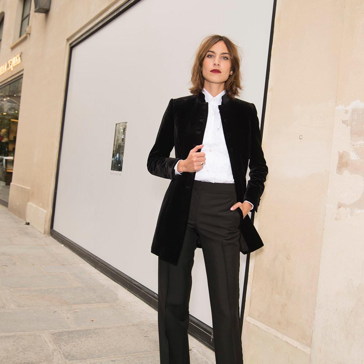 Alexa Chung's Penchant for Menswear is
