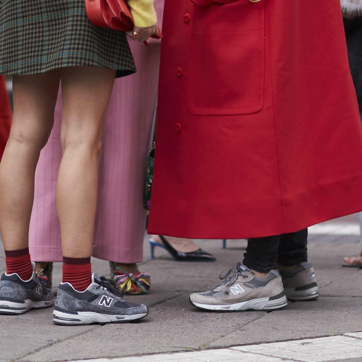 Sneaker at Fashion Week