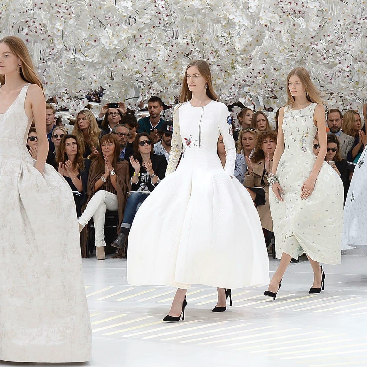 Fashion History Lesson The Evolution Of Runway Shows Fashionista