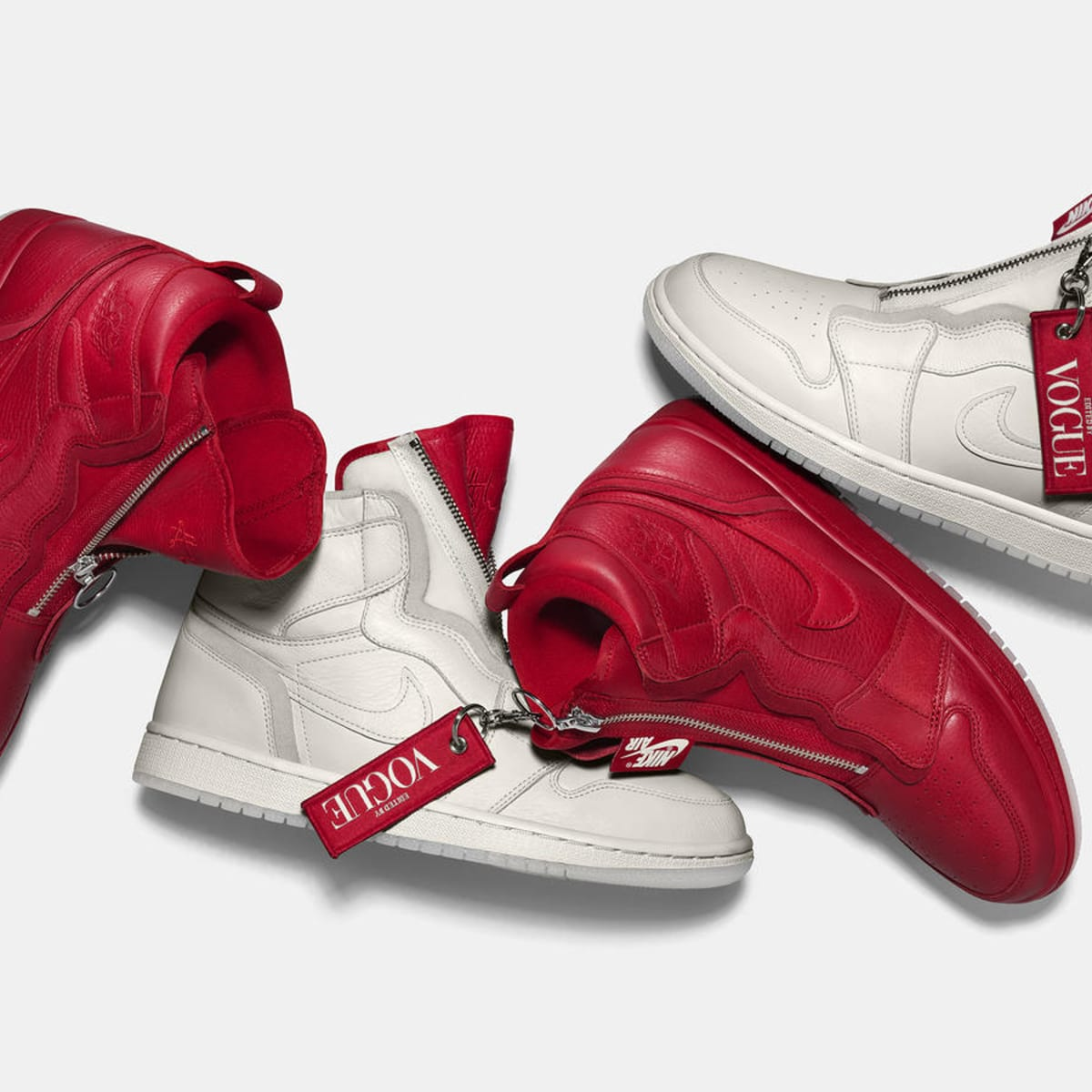 entrada Rusia Gallina  Vogue' and Nike Collaborated on a Pair of Anna Wintour-Inspired Air Jordans  - Fashionista