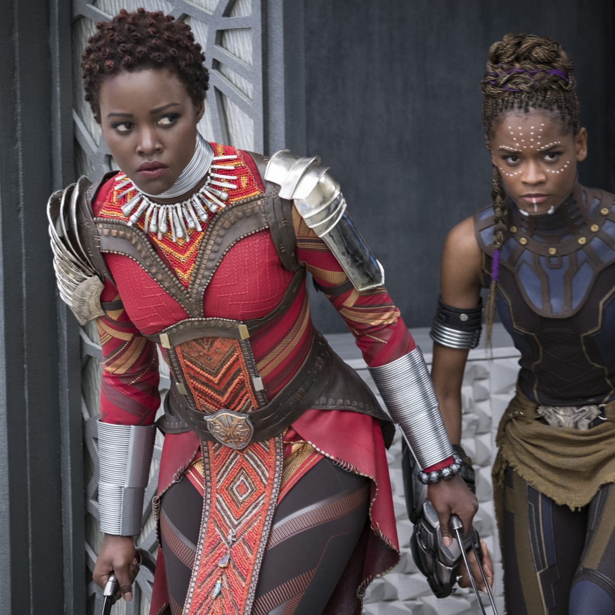 The Costume Hair And Makeup In Marvel S Black Panther Are A Celebration Of Black Culture And Heritage Fashionista