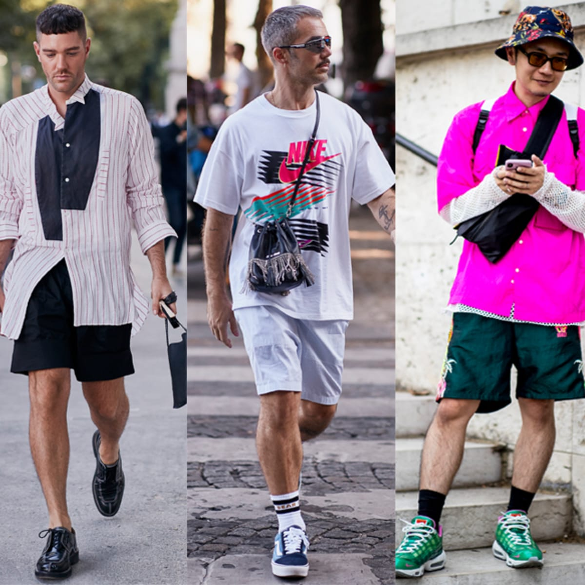 Loose, Sporty Shorts Were a Street Style Staple at Paris Fashion ...