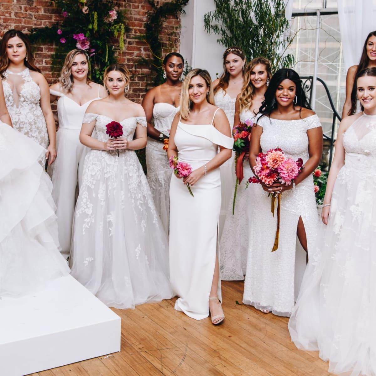 The Bridal Industry Makes Slow Strides In Inclusivity Across The Board Fashionista,Disney Princess Aurora Wedding Dress