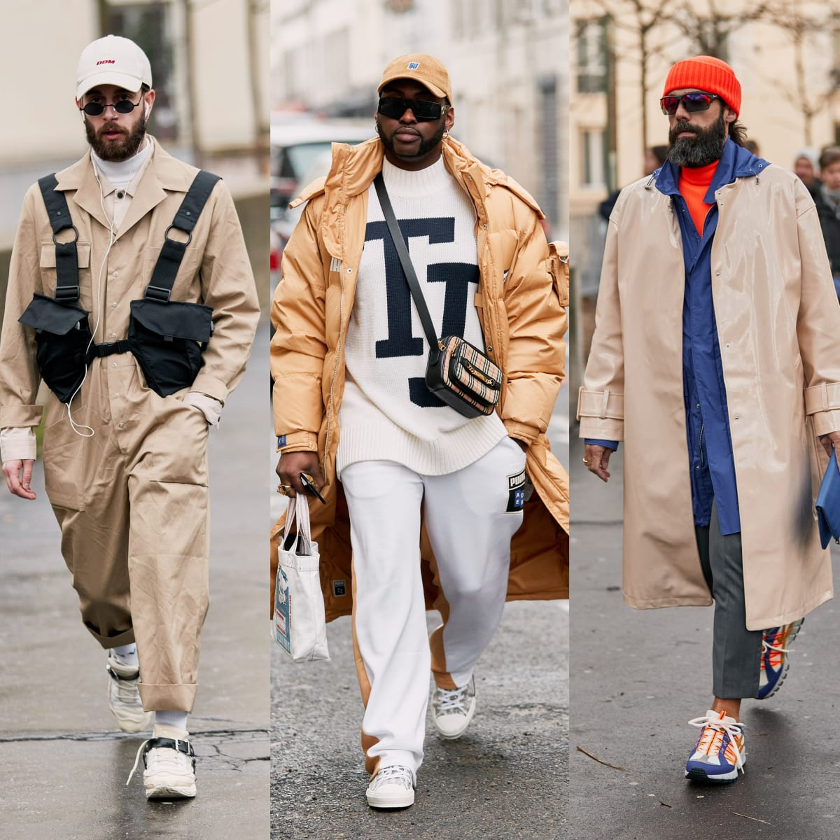 Khaki Got a Street Style Upgrade at Paris Fashion Week Men's ...