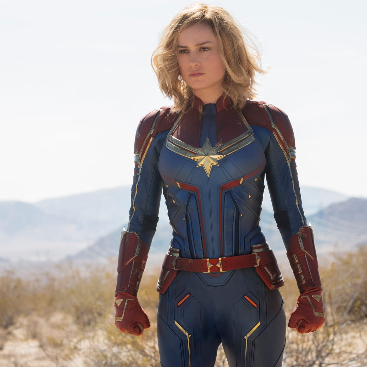 The Complete Breakdown Of Brie Larson S Costumes In Captain Marvel Fashionista A captain america costume, spiderman costume with his spider. captain marvel