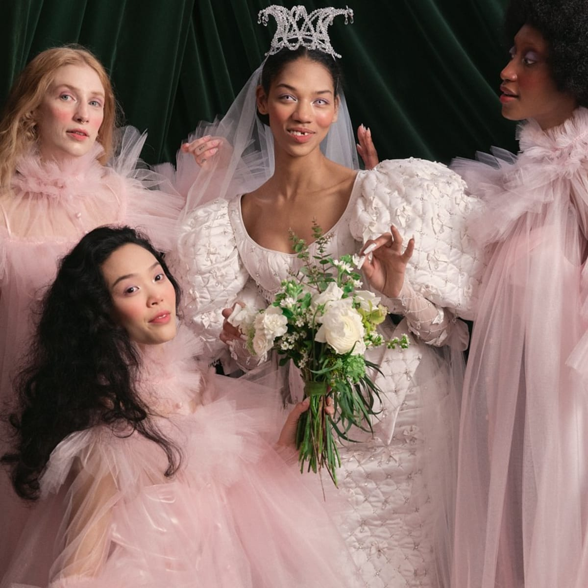 The 20 Top Bridal Trends For Spring 20 Include 'Bridgerton ...