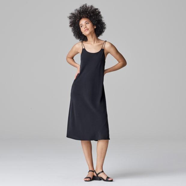 3-Silk Cami Dress