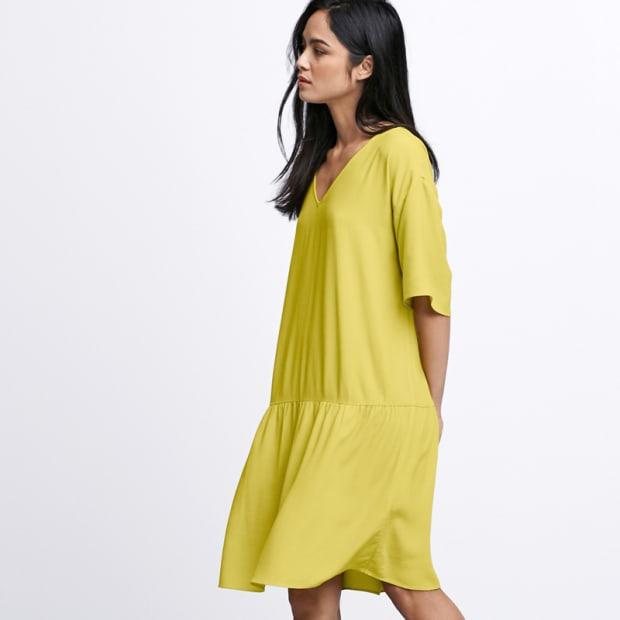 6-Tencel Drop-Waist Dress