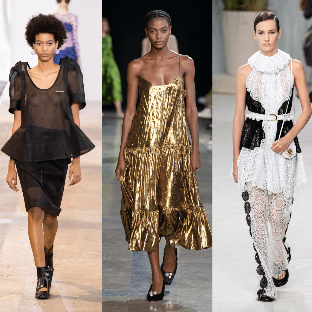 7 Top Trends From the Paris Spring 7 Runways - Fashionista