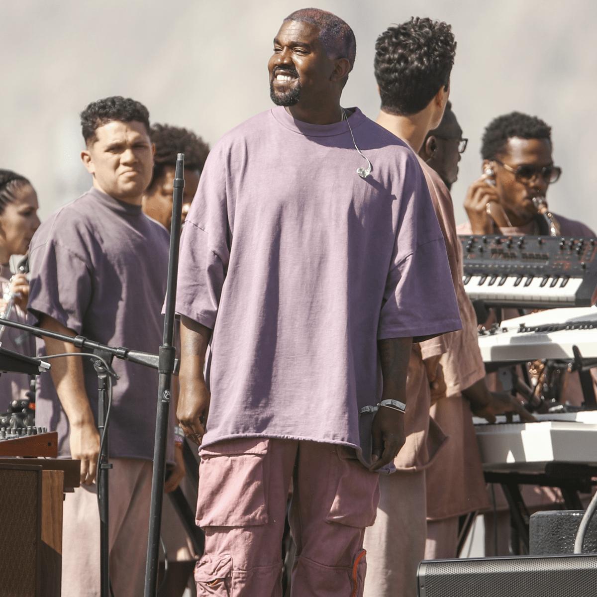 Kanye West Threw an On-Brand Sunday