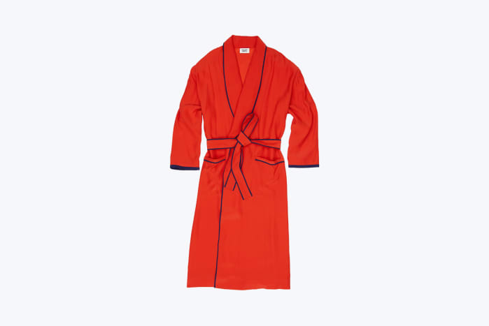 Sleepy Jones Ana Silk Robe, $244 (from $348), available at Sleepy Jones.