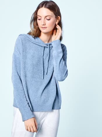 Organic Cotton Chenille Hooded Sweater, $150.40 (from $188), available here.