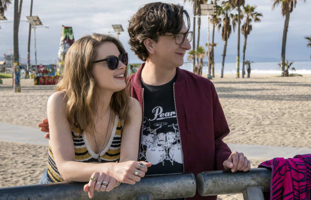 Mickey's Very Real Costumes in 'Love' Are Inspired By a 'Hungover Alexa Chung'