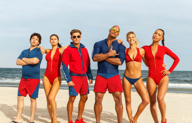The Rock and Zac Efron Were the 'Perfect Canvas' For the Rebooted 'Baywatch' Costumes