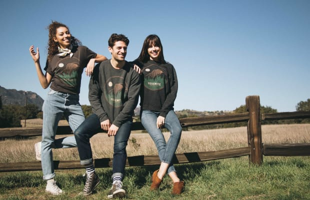 The California Label Getting Us to Care About Our National Parks, One Vintage-Style Tee at a Time