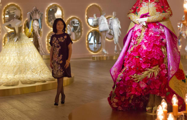 Chinese Couturier Guo Pei's Jaw-Dropping Gowns Have Earned their First Museum Exhibit