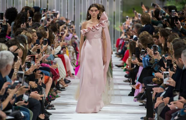 The Valentino Spring 2018 Collection Brought Glamour to Functional Fashion