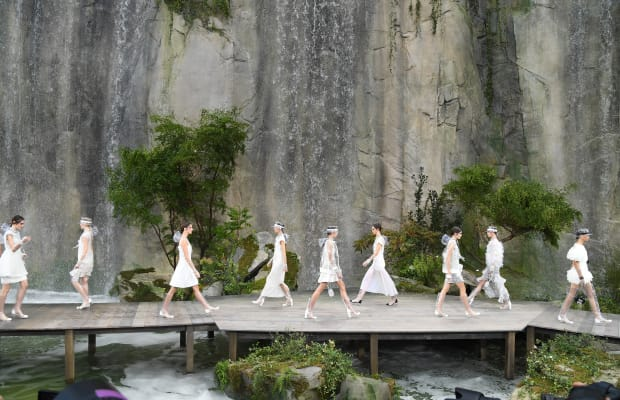 Life in Plastic Is Fantastic for Chanel's Spring 2018 Collection