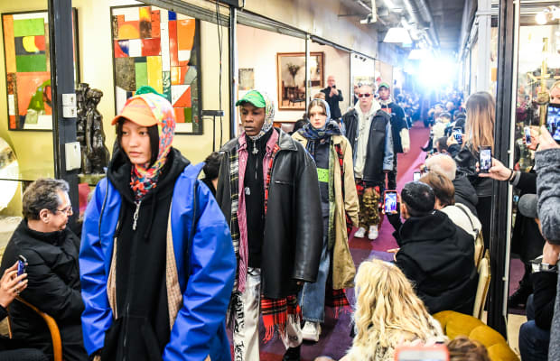 See Every Look From Vetements's Fall Collection, AKA Things Fashion People Will Soon Spend a Bajillion Dollars on