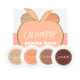 Colourpop Foursome in Peachy Keen, $18, available at Colourpop.