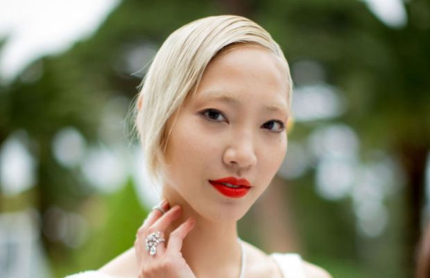 Soo Joo's signature. Photo: Kevin Tachman/WireImage/Getty Images