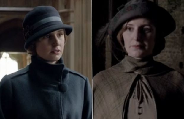 Is Lady Edith never going to not be sad? Photos: Screengrabs