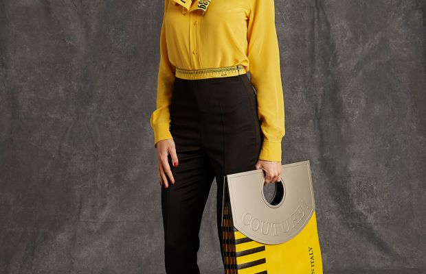 A look from the Moschino pre-fall collection. Photo: Moschino