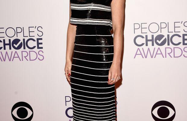 Olivia Munn in Giambattista Valli couture. Photo: Jason Merritt/Getty Images.