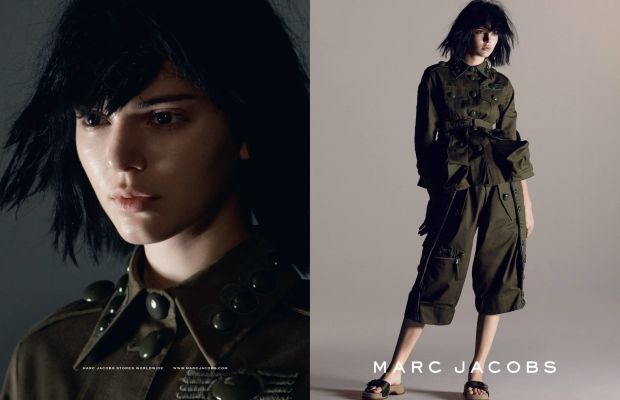 Kendall Jenner for Marc Jacobs. Photo: Marc Jacobs
