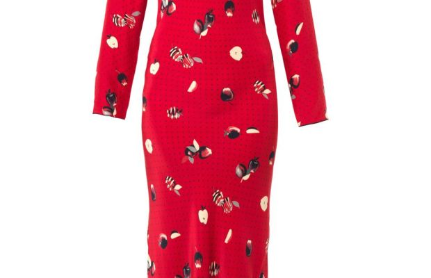 This Piamita dress is on sale for $518 (down from $741) on Matches Fashion.