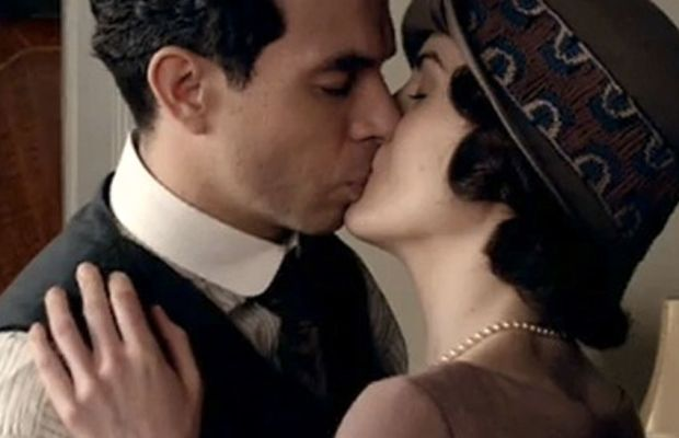 Making out with hat and pearls firmly in place. Photo: PBS