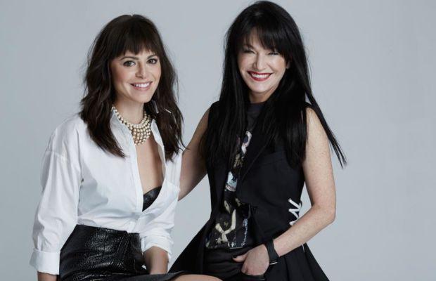 #GirlBangs. Sophia Amoruso, left and Sheree Waterson, right. Photo: Courtesy Nasty Gal