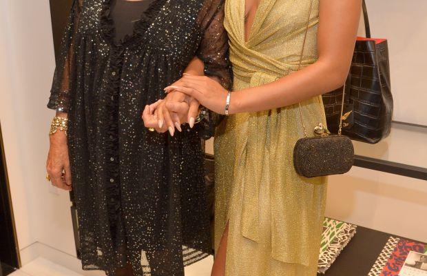 Diane von Furstenberg and season one winner Brittany Hampton. Photo: Charley Gallay/Getty Images