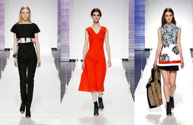 Dior staged his cruise 2015 collection show last year in Brooklyn's Navy Yard. Photos: Dior