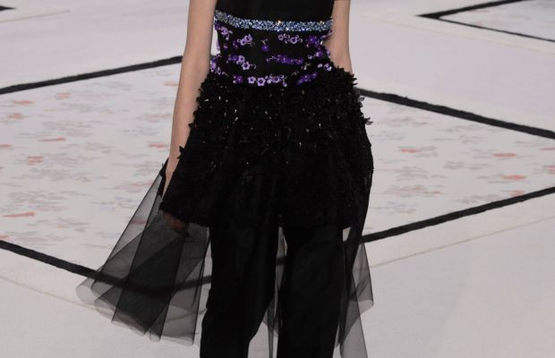 A look from Giambattista Valli's spring 2015 couture collection. Photo: Imaxtree