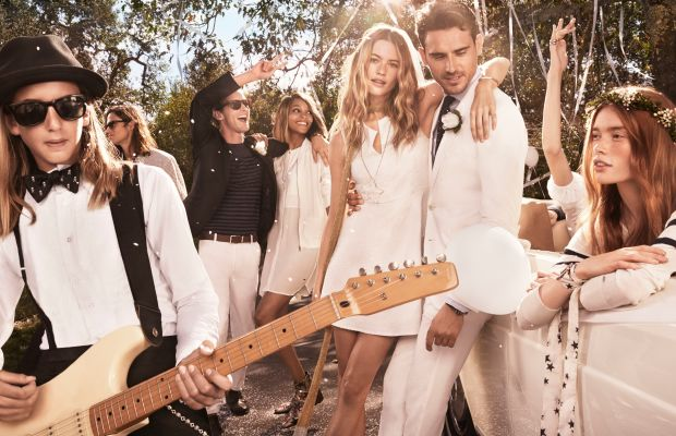 An image from Tommy Hilfiger's spring 2015 campaign starring model Behati Prinsloo. Photo: Tommy Hilfiger