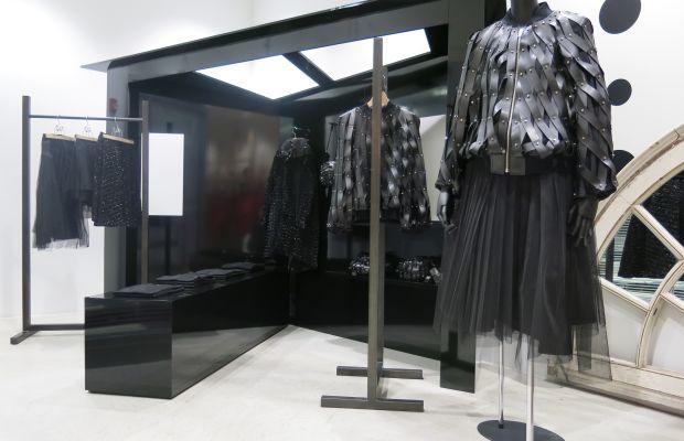 Noir Kei Ninomiya's installation at Dover Street Market New York. Photo: Dover Street Market New York