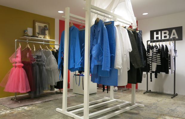Craig Green's collection in the DSM Showroom at Dover Street Market New York. Photo: Dover Street Market New York
