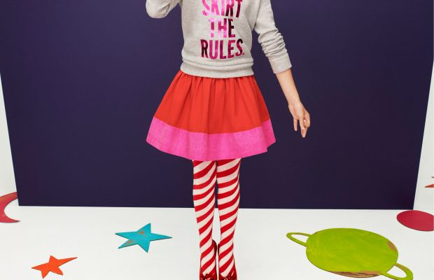 Holiday cuteness courtesy Kate and Jack Spade's collaboration with GapKids in 2014. Photo: GapKids