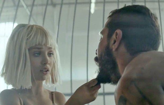 """Screengrab (and beard grab): """"Elastic Hearts"""" video"""