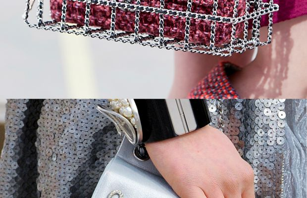Chanel accessories from the fall 2014 show. Photos: Imaxtree.
