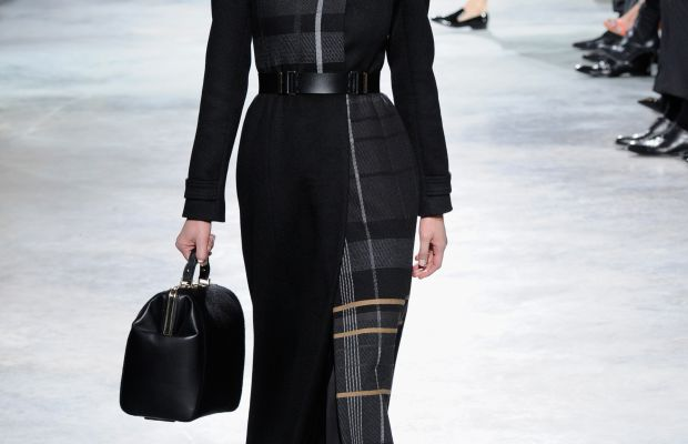 A look from Hugo Boss's fall collection. Photo: Arun Nevader/Getty Images