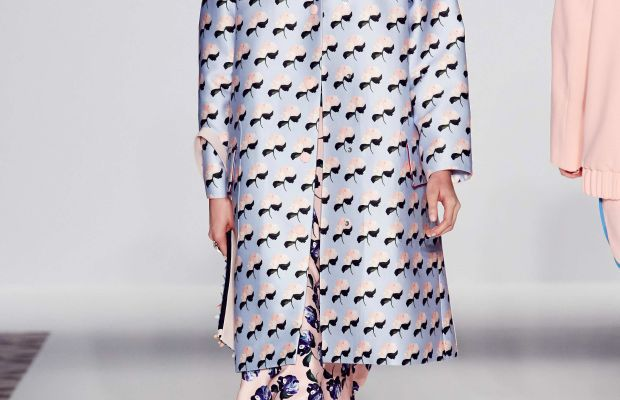 A look from Mother of Pearl's spring 2015 show. Photo: Mother of Pearl