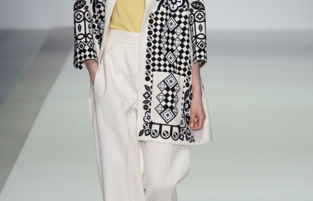 A look from Holly Fulton's spring 2015 show. Photo: Imaxtree