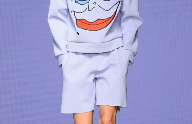 A look from the Bobby Abley spring 2015 collection. Photo: Stuart C. Wilson/Getty Images